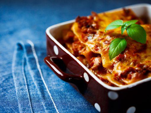 Recipes – Lamb, Rosemary and Ricotta Lasagne